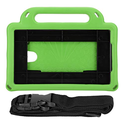 Hebrew Removable Shoulder Convenient And Safe Tablet Protective Cover, Tablet Case, Engineers, Cashiers For Students, Teachers(green)