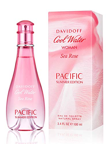 Davidoff Cool Water Woman Sea Rose Parcific Summer Eau de Toilette, 100 ml