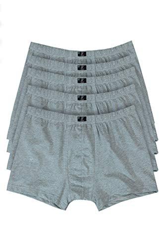 JP 1880 Herren große Größen bis 16, Pants 5er Pack Unterhosen, Boxer-Shorts, Hipster Slips, Schlüpfer Elastikbund, schwarz, dunkelblau grau-Melange 16 711245 12-16