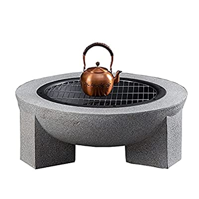 Fire Pit Outdoor Garden fire Pit, 30-inch Household Heater, Patio Patio fire Bowl, Barbecue Fireplace by Lijack