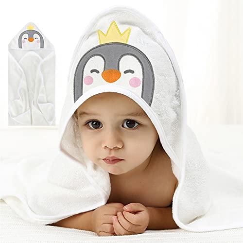 Toalla De Bebé Con Capucha Toalla De Baño Suave Al Tacto Para Niños Pequeños, Toallita Súper Absorbente, Con Lindo Diseño De Oreja Para Baby Shower