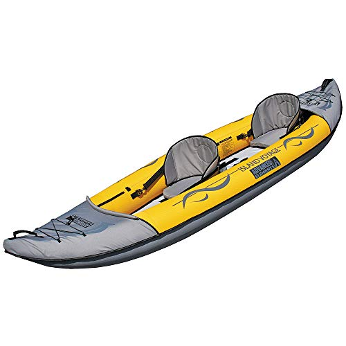 ADVANCED ELEMENTS Island Voyage 2-Person Inflatable Kayak with Duffle Bag...