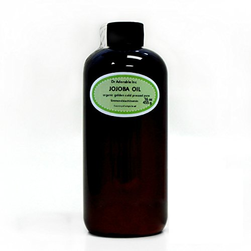 Premium JOJOBA OIL Golden Unrefined Pure & Organic You Pick Size (16 oz/1 Pint)