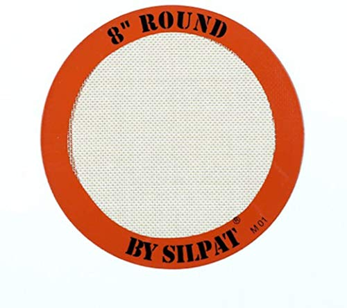 Silpat Round Cake Liner Non-Stick Silicone Baking Mat, 8'