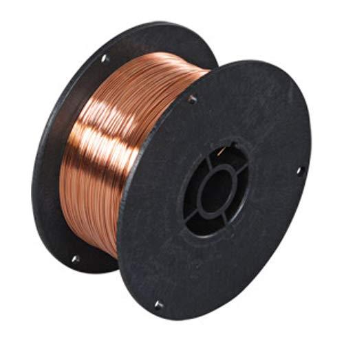 Telwin 802133 Bobina Filo Acciaio D. 0.8 mm 0.8 kg per Saldatura, 0.1 V, 0.8 mm - 0.8 kg, Marrone