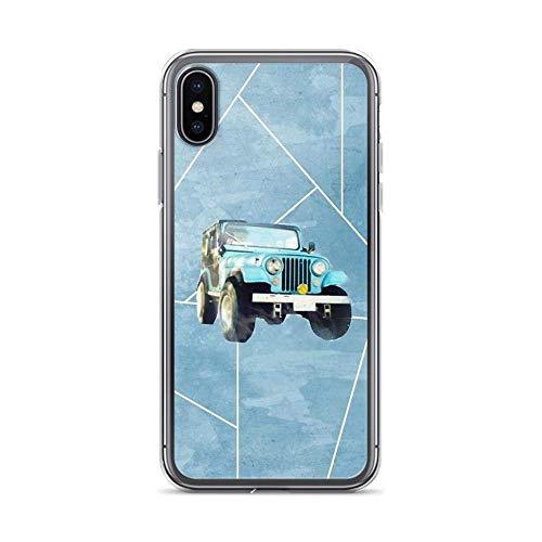 Flytoasky Phone Case Soft TPU Transparent Anti-Choques y Anti- Arañazos para Funda iPhone 7 Plus/8 Plus Cover Stiles Stilinski Jeep