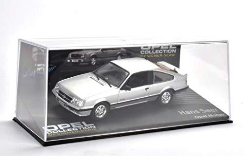Opel Monza Fertigmodell in Displayvitrine Maßstab 1:43