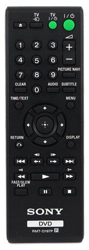 Sony Control Remoto para DVP-SR370B DVPSR370B SR370B DVD Player - con Two Baterías 121AV AAA Incluidas