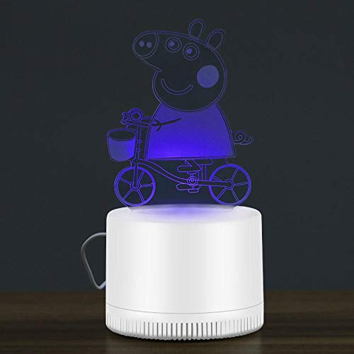 Mosquito Repellent Lamp 3D Mosquito Killer Cartoon Lamp Home Indoor Silent Mosquito Trap Creative Gift Business Gift Children Sleep Aid Lamp-Cycling_USB