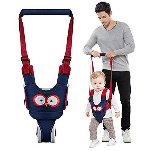 GYLEJWH Gehhilfe Für Kleinkinder Gehgeschirr Griff Baby Walker Aufstehen Und Gehen Lernhilfe Für Baby Einstellbares Laufband Für 6-24 Monate