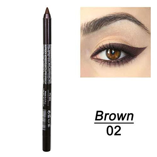 Olodui1 Nuevo maquillaje cosmético impermeable de larga duración para mujeres Eye Liner...