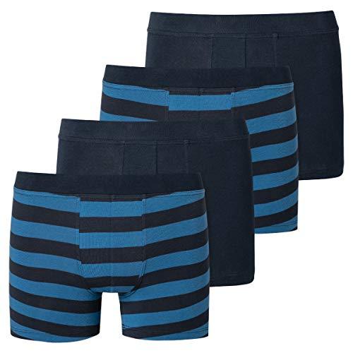 Schiesser - Teens Boys - 95/5 Shorts/Pants - 173535-4er Spar-Pack (140 Blau)