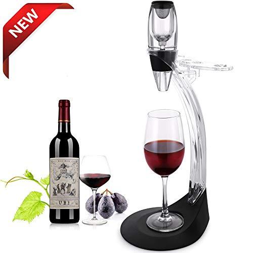 TOMORAL Deluxe Weinbelüfter-Geschenk set - Weinzubehör-Kit mit Weinbelüfter-Dekanter, Ablageständer, bestes Geschenk für Weinliebhaber