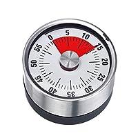 westmark 10902260futura timer da cucina metallo argento 7x 6x 1cm, alluminio, 7 cm