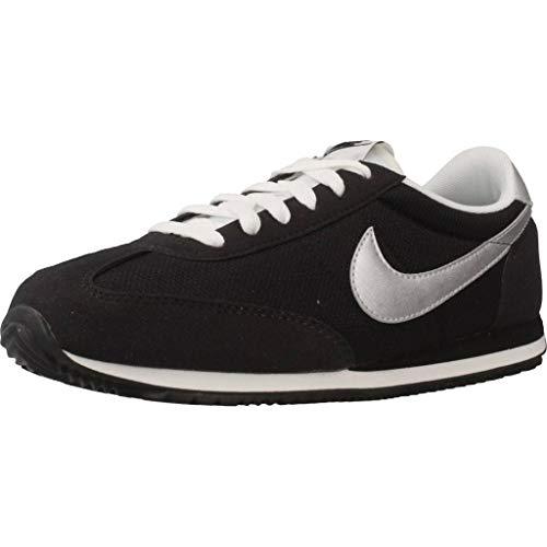 Nike Oceania Textile, Zapatillas de Deporte Unisex Adulto, Negro (Black/Metallic Silver/Summit White 091), 38 EU