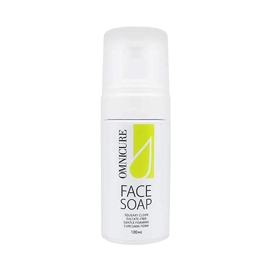 れる生む怒るオムニキュア フェイスソープ 泡洗顔 お肌の調子を整える洗顔フォーム 弱酸性 敏感肌 驚きの保湿力 乾燥肌におすすめ