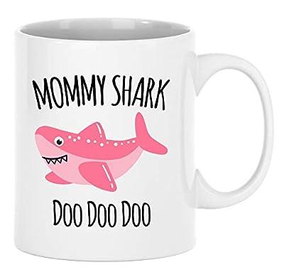 Mommy Shark Doo Doo Mug - Mama Mug - Gift For Mom - Mother's Day Gift From Husband - Christmas Coffee Mug Present