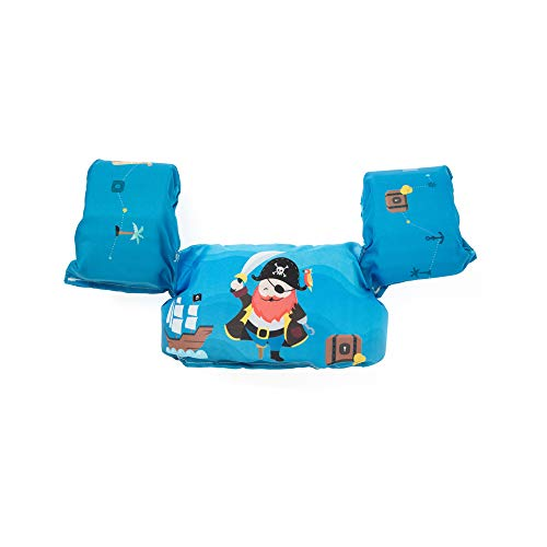 Boia Infantil Salva-Vidas Pirata, Momis Petit, Azul, Único