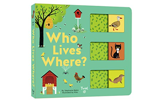 Who Lives Where?: A Slide-And-Learn Book