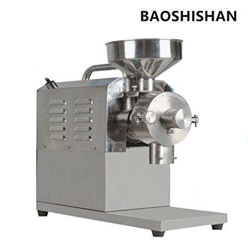 BAOSHISHAN Food Grinding Machine Spice and Chinese Herb Grinder Peppe Soybean Milling Machine 110V