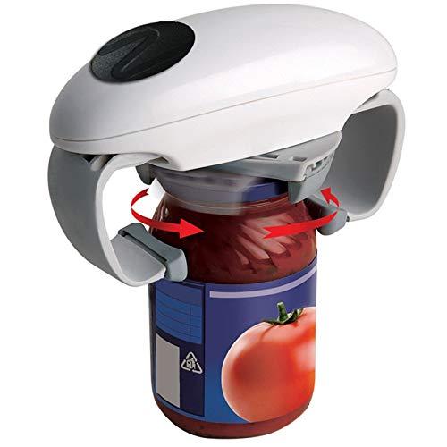 Abrelatas automático Abridor de tapa eléctrico Abridor de botellas especial para latas de vidrio Abrebotellas eléctrico