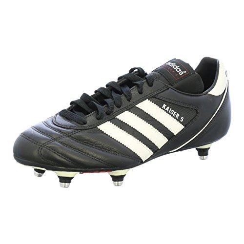adidas Kaiser 5 Cup, Zapatillas de Fútbol Hombre, (Black Ftwwht Red), 41.5 EU