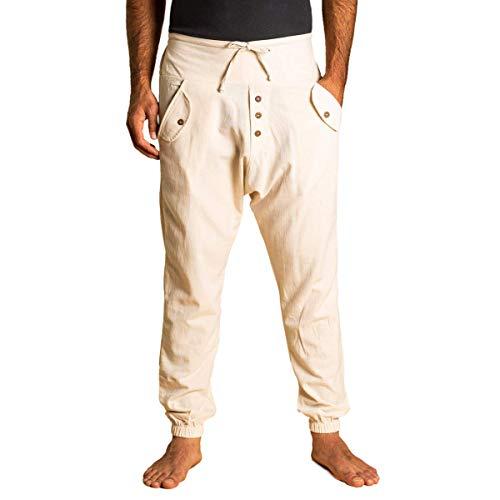 PANASIAM Yogipants, Cotton, naturewhite, XL