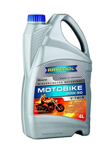 RAVENOL Motobike V-Twin SAE 20W-50 / 20W50 Mineral (4 Liter)