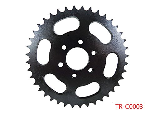Rear Engine Chain Sprocket 428 40 Teeth for 50cc 90cc 110cc 125cc 150cc 200cc 250cc 300cc Chinese ATV Dirt Bike Quad TaoTao Roketa Sunl