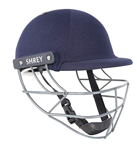 Shrey Unisex Performance 2.0 – Steel Navy Youth Cricket Helm