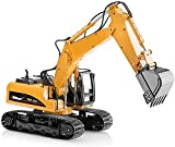 Top race Excavator Toy Trucks Construction Toys, Excavator Toys for boys, Diecast Metal Truck Toy, kids Tractor Toys 1:40 Scale, Great Toddler toys for 8 year old boys and up