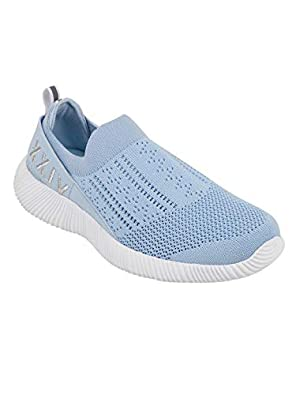 KazarMax Women Sky Blue Training Slip-On Shoes