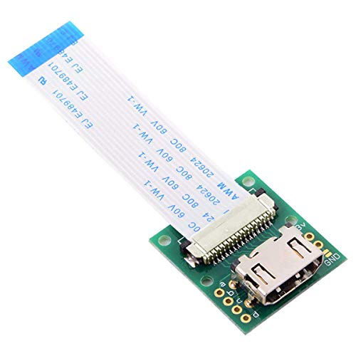 CY HDMI Type a Male HDTV FPC Flat Cable for Raspberry PI Camera Module 5cm Fit for PES001