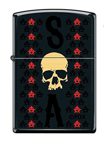 Zippo Sons of Anarchy Encendedor, latón, Design, 5,83,81,2
