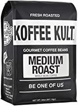 Koffee Kult - Medium Roast Coffee Beans Artisan Small Batch Direct Ship From Roaster, 32oz