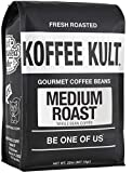 Koffee Kult - Medium Roast Coffee Beans, Whole Bean Coffee, 32oz