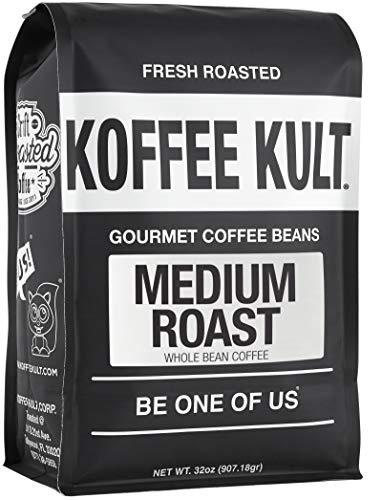 Medium Roast Coffee (Whole Bean, 32oz)
