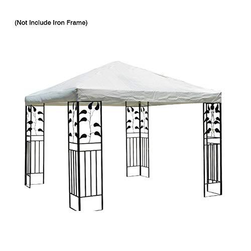 Paradesour - Cubierta superior de repuesto para tienda de campaña al aire libre, patio, camping, senderismo, color Blanco, tamaño suelto