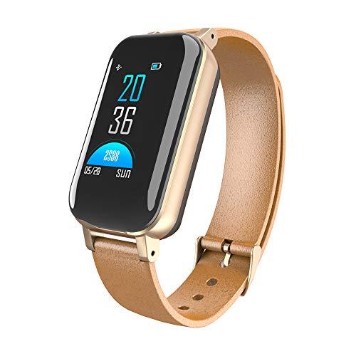 ZNSBH Bluetooth Smart Watch, Gezondheid & Fitness Tracker Smartwatch Drukactiviteit Horloge, Slaapmonitor Stappenteller Oproepen SMS Kennisgeving Remote Camera Muziek Voor iOS Android
