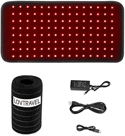 2020 New 25W 660nm LED Red Light and 850nm Near Infrared Light Therapy Devices Large Pads Wearable product image