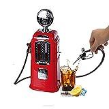 Distributore Di Birra Distributore Di Liquori A Benzina Distributore Di Benzina A Forma Di Doppio Ugello Creativo Distributore Di Bevande Personalizzate Distributore Di Bevande Bar Butler Tools,Red