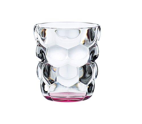 Spiegelau & Nachtmann, 2-teiliges Universalbecher-Set, Kristallglas, 315 ml, Bubbles, Pink, 100699