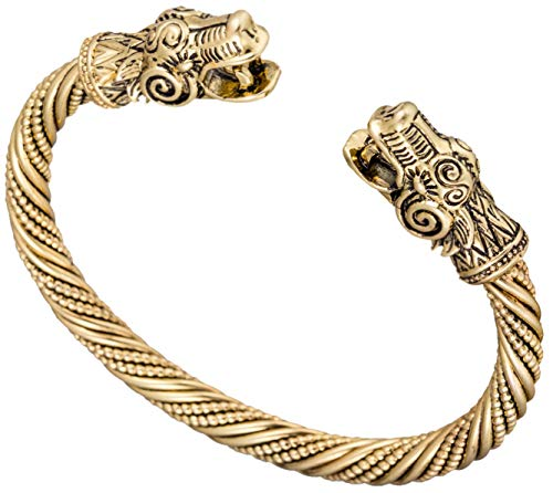ZSML Antike Gold Dragon Viking Armbänder & Armreif Carter Love Bracelet Pagan Jewellery Accessoires