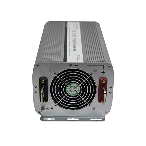 AIMS Power 5000 Watt Modified Sine Power Inverter 12Volt DC to 120 Volt AC with GFCI Outlets and AC Terminal Block