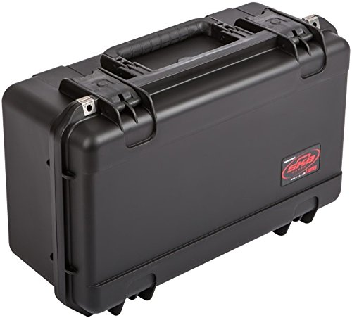 SKB Cases 3i-2011-8B-E iSeries 2011-8 Waterproof Case (Empty), Ultra high-strength polypropylene copolymer resin, Resistant to corrosion and impact damage, Continuous molded-in hinge
