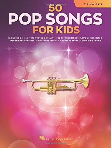 50 Pop Songs for Kids for Trumpet