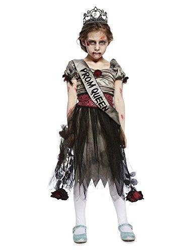 shoperama Prombie Queen Zombie Ballkönigin Teenager Mädchen Kostüm Abschlussball Prom Kinder, Kindergröße:170 - 14 bis 16 Jahre