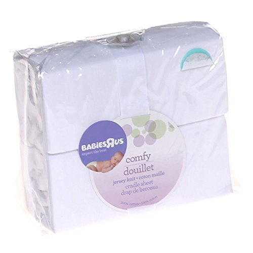 Babies R Us Knit Cradle Sheet - White by Babies R Us