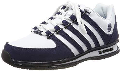 K-Swiss Herren Rinzler SP Sneaker, Weiß (White/Navy/Black 915), 43 EU