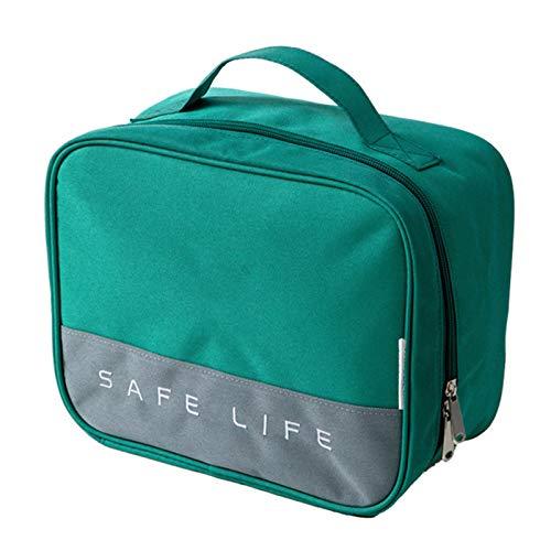 Chahu - Scatola portatile per medicina da viaggio per esterni, kit medico di pronto soccorso